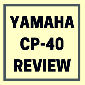Yamaha cp40 review digital piano review guide for Yamaha cp4 weight