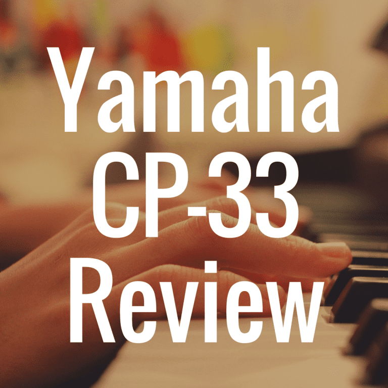 Yamaha CP-33 Review
