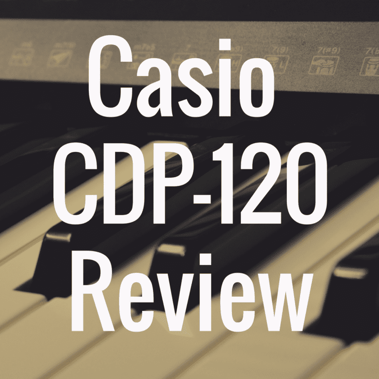 Casio CDP-120 Review