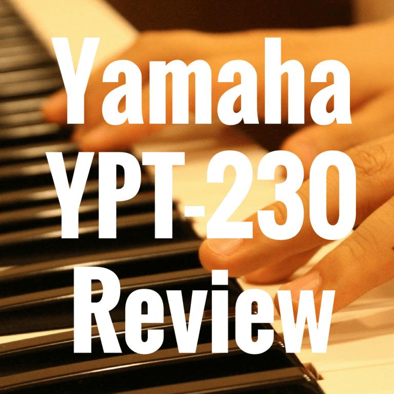Yamaha YPT-230 review