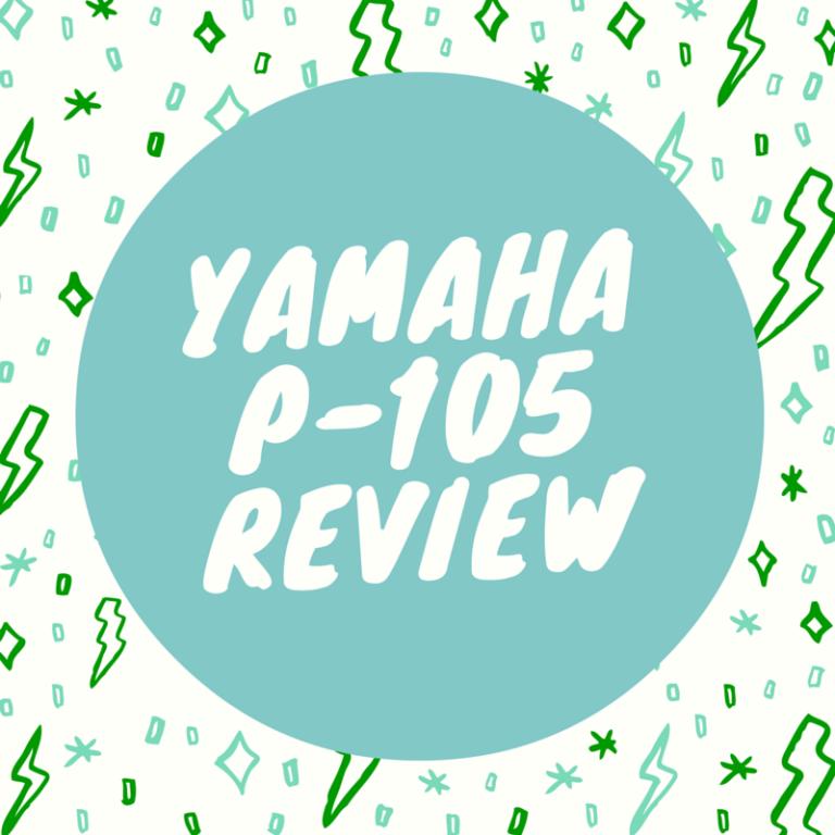 Yamaha P-105B piano review