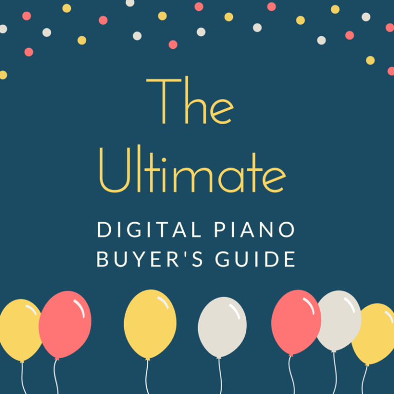The Ultimate Digital Piano Buyer's Guide