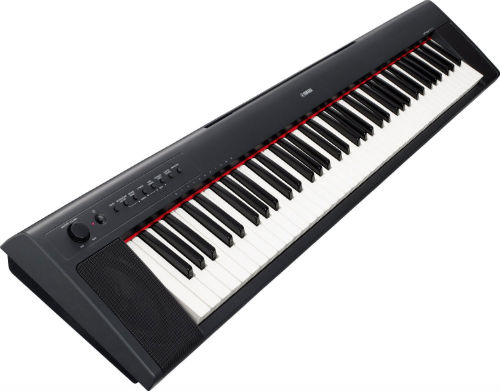 The Yamaha NP 31 piano