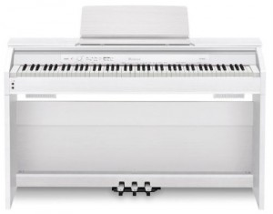 The Casio PX-850 in white