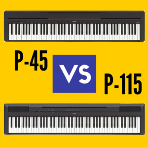 Yamaha P45 vs Yamaha P-115: Which is Better?