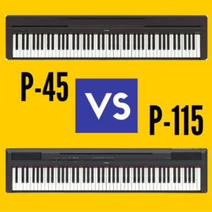 Yamaha P45 vs Yamaha P-115: Which is Better?