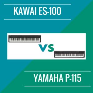 KAWAI ES100 VS YAMAHA P-115
