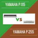 Yamaha P-115 vs Yamaha P-255: Which is Better?