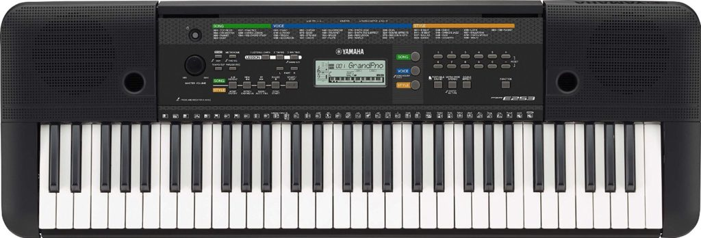 yamaha psr e253 review digital piano review guide. Black Bedroom Furniture Sets. Home Design Ideas