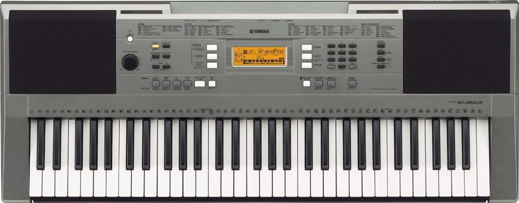 yamaha psr e353 review digital piano review guide. Black Bedroom Furniture Sets. Home Design Ideas