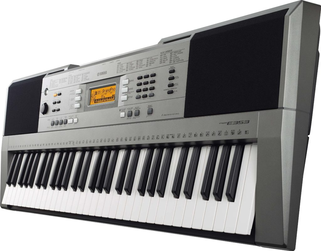 Yamaha psr e353 review digital piano review guide for Yamaha professional keyboard price