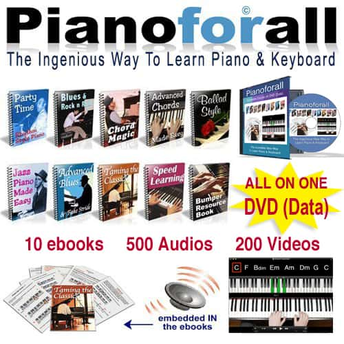 Check out Piano for All to learn how to play piano properly