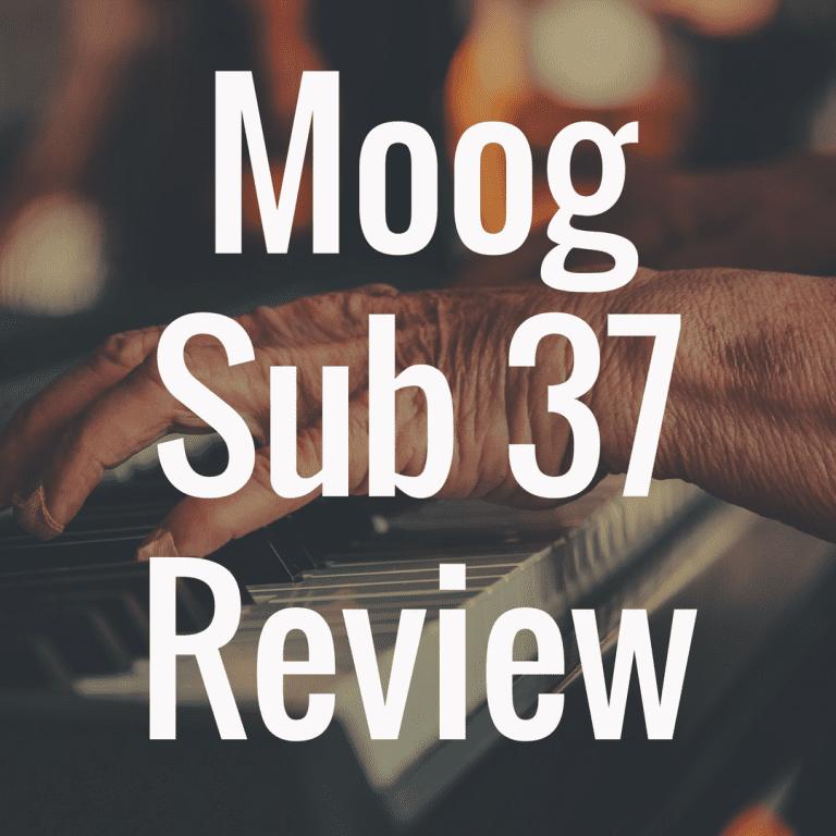 Moog Sub 37 review