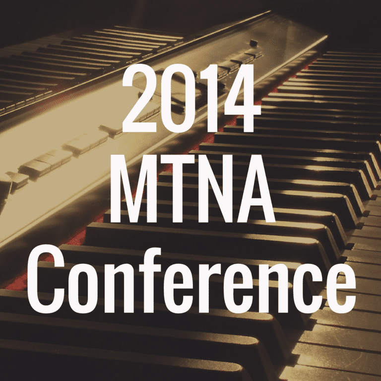 2014 MTNA Conference: Dates, Schedule and Guests