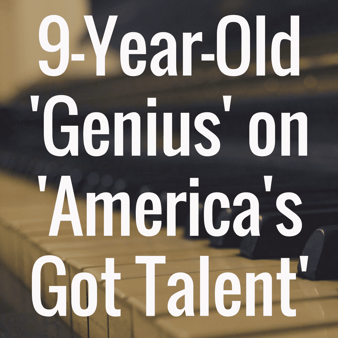 9-year-old piano genius blows away 'America's Got Talent' judges (Video)