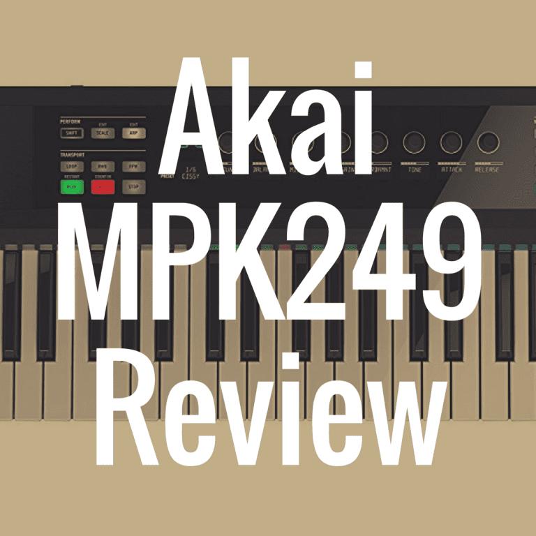 Akai MPK249 review