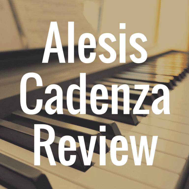 Alesis Cadenza digital piano review