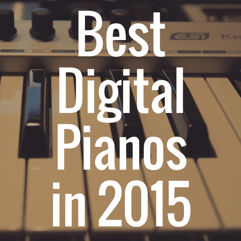 What Are the Best Digital Pianos in 2015?