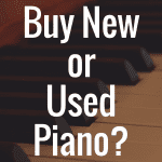 Should I Buy a Used Digital Piano or a New One?