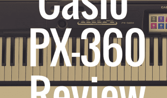 Casio PX-360 review