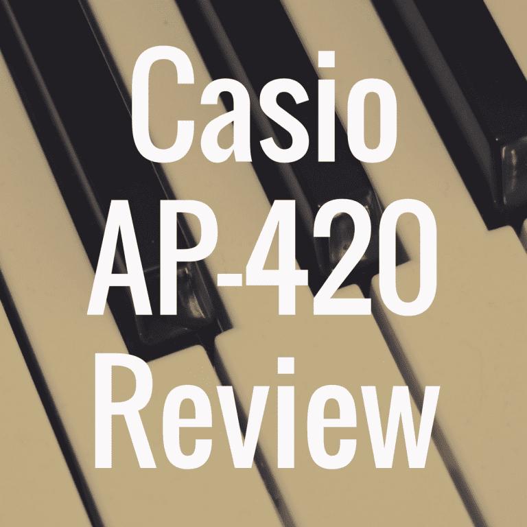 Casio Celviano AP-420 piano review
