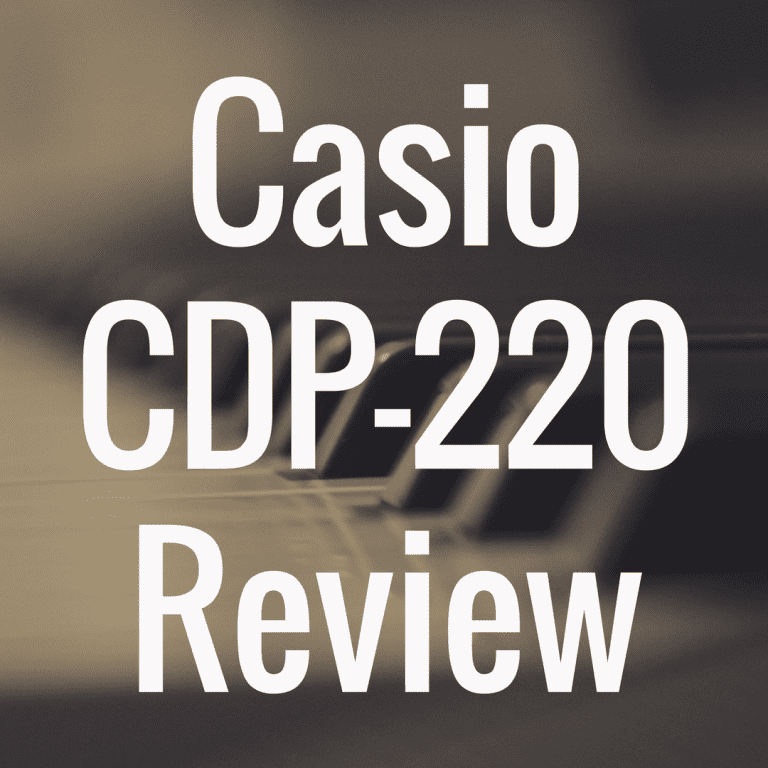 Casio CDP 220 review