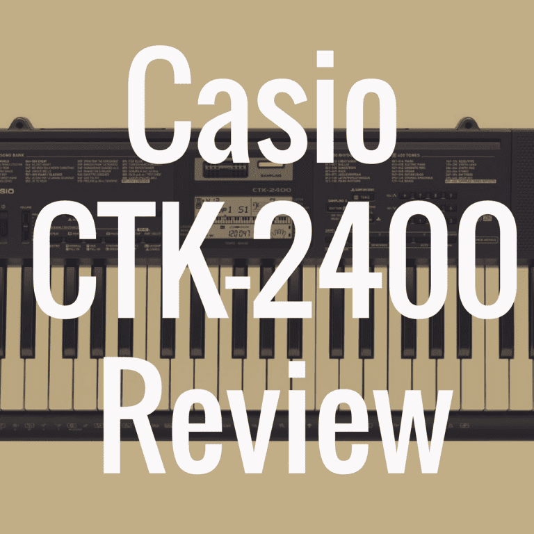 Casio CTK-2400 review