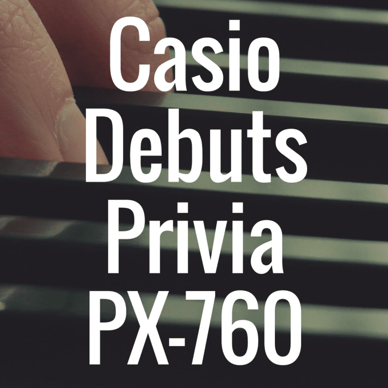 Casio debuts Privia PX-760 and PX-860 at NAMM 2015