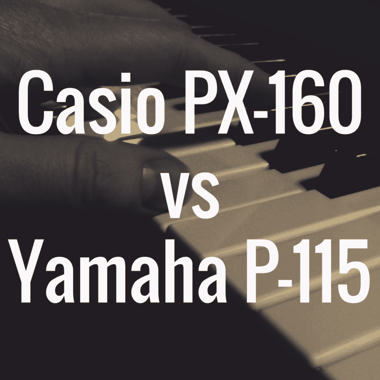 Casio PX-160 vs Yamaha P-115: Which Piano Is Best?