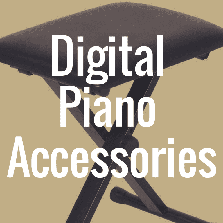 What Are the Best Digital Piano Accessories?