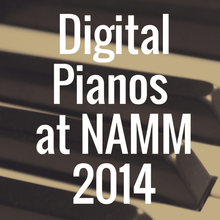 NAMM Digital Pianos for 2014: Roland keeps rolling