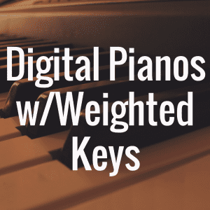 What's the Best Digital Piano with 88 Weighted Keys?