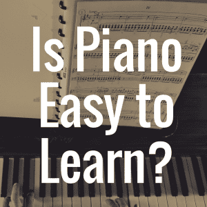 Discover some of the easiest ways to learn to play piano