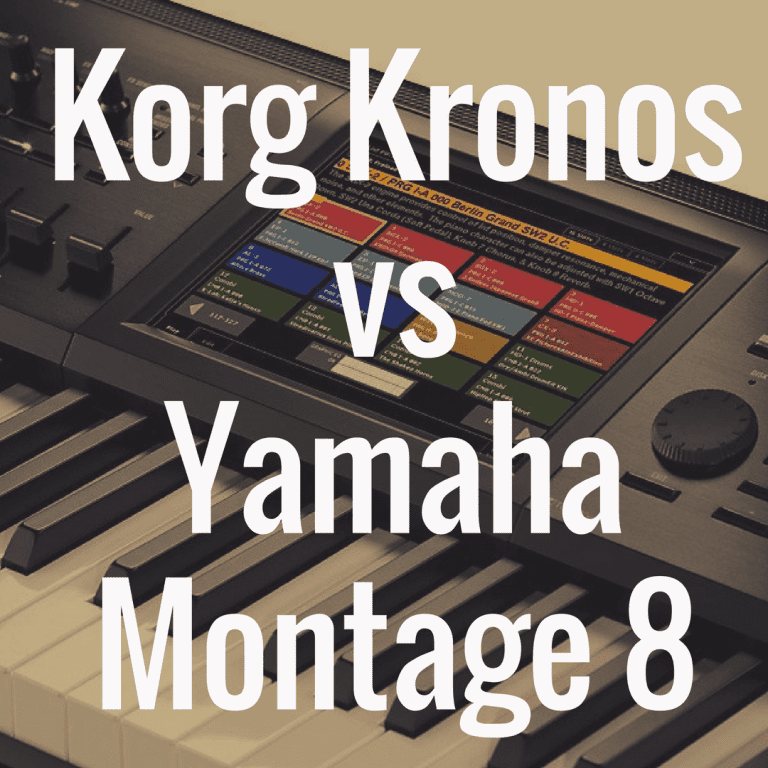 Korg Kronos vs Yamaha Montage 8: Comparison Review