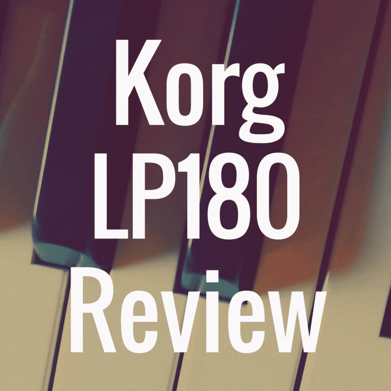 Korg LP 180 review