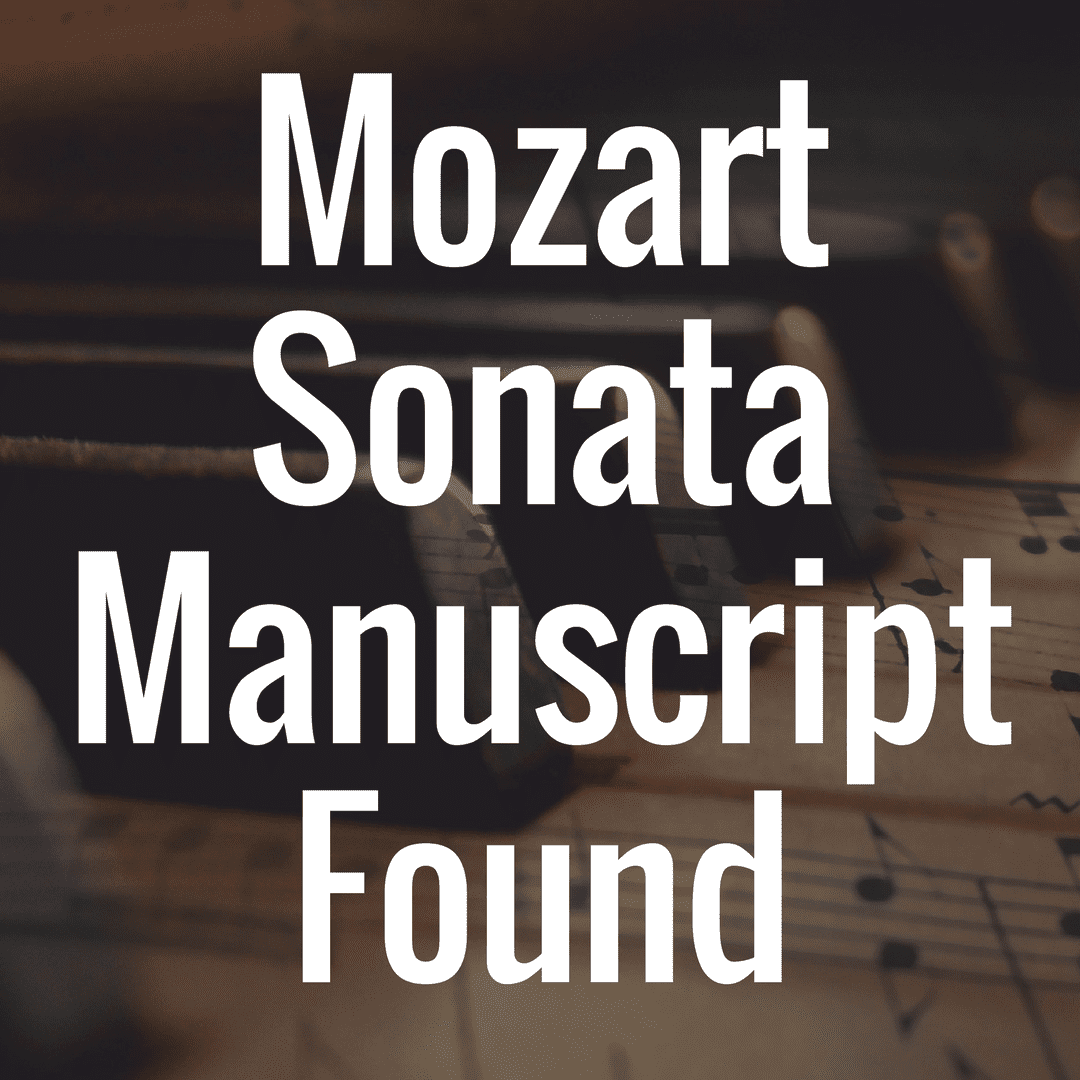 Mozart's A major piano sonata K331 manuscript found in Hungary