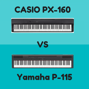 Casio PX-160 vs Yamaha P-115: Which Piano Is Best? | Digital Piano