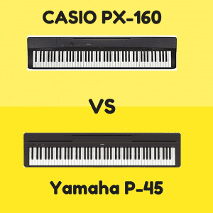 casio px 160 vs yamaha p 45 which is better digital piano review guide. Black Bedroom Furniture Sets. Home Design Ideas