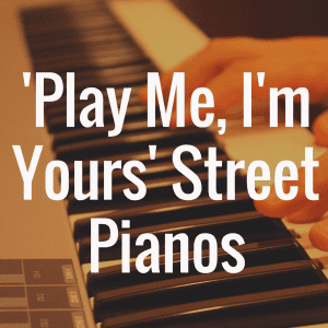 'Play Me, I'm Yours' Street Pianos of Boston concludes October 14