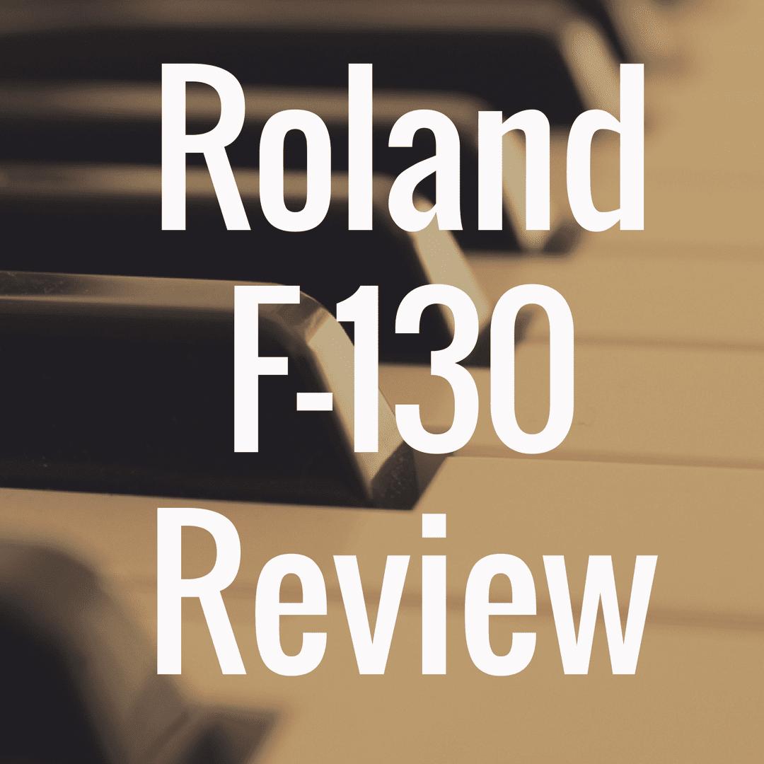 Roland F-130 review