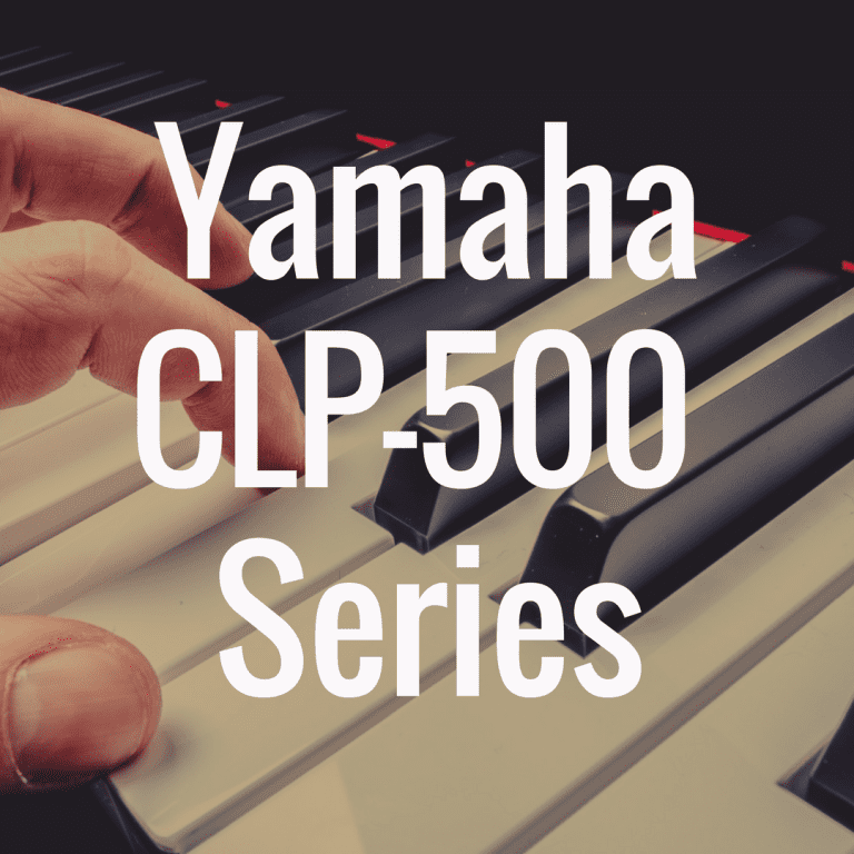 Yamaha CLP-500 series welcomes Yamaha CFX, Bösendorfer Imperial sounds