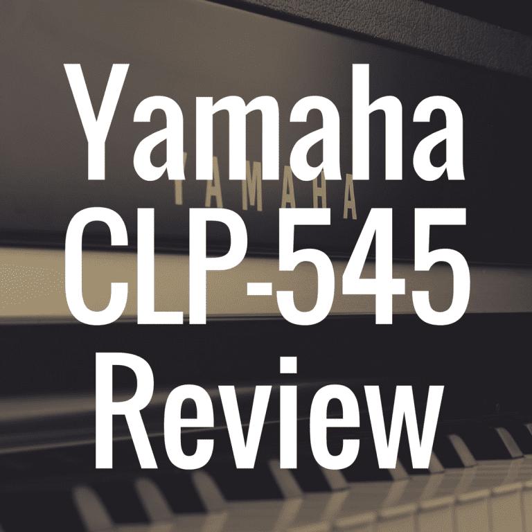 Yamaha CLP 545 review