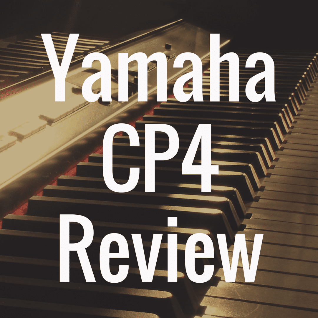 Yamaha CP4 review