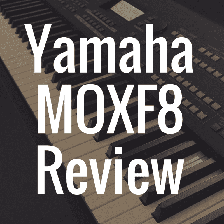 Yamaha MOXF8 review