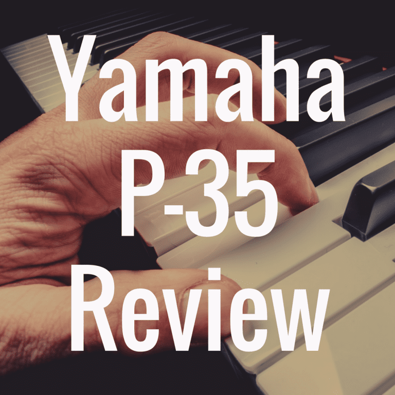 Yamaha P Series P-35B piano review