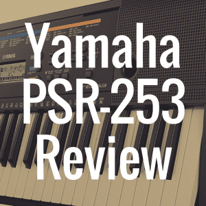 Yamaha PSR-E253 review