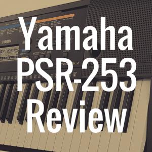 Yamaha PSR-E253 review