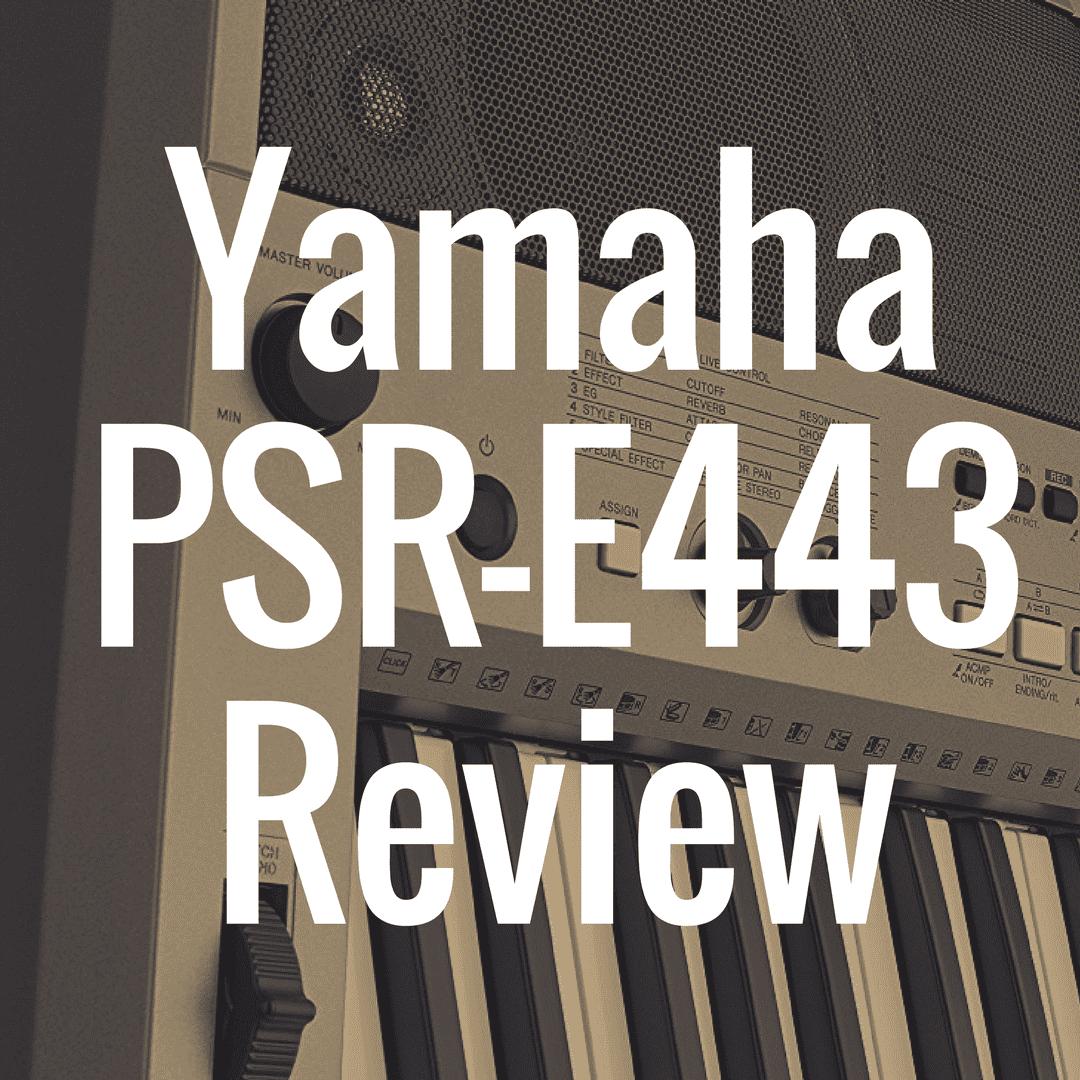 Yamaha PSR-E443 review