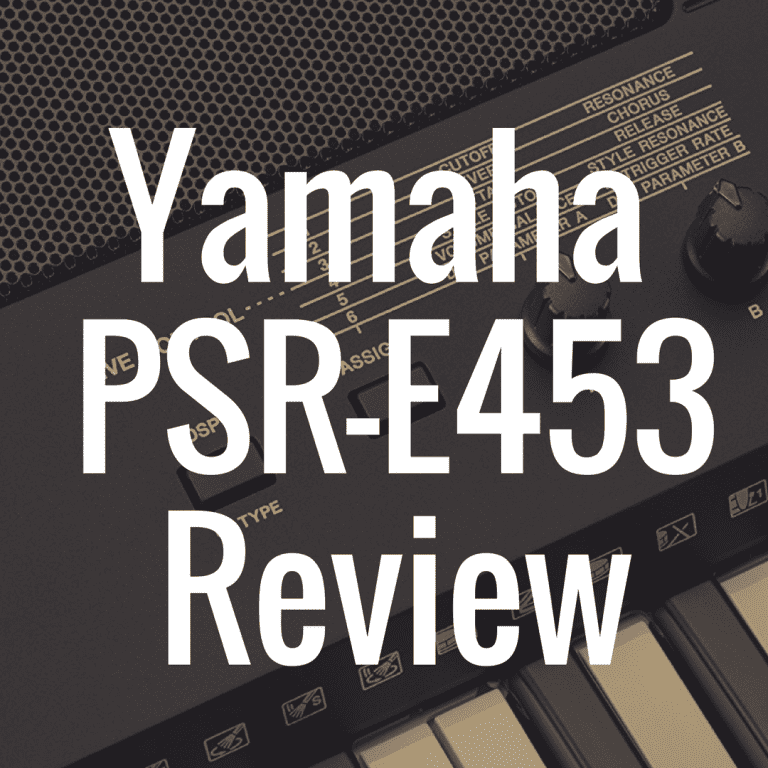 Yamaha PSR-E453 review