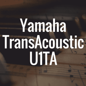 Yamaha's TransAcoustic U1TA offers digital, acoustic hybrid magic
